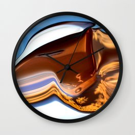 Abstract Little Foal Wall Clock