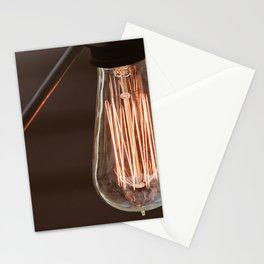 Edison Light Bulb LBI Stationery Cards