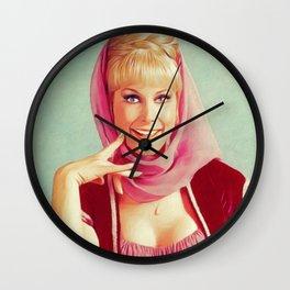 Barbara Eden, TV Star Wall Clock