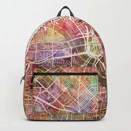 Dallas map 2 Backpack