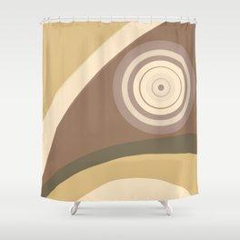 City Park - Hypnotized Bird Shower Curtain
