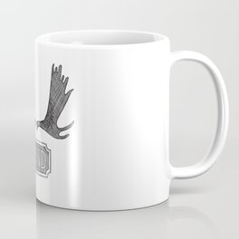 Moose Paddles - Dutch Coffee Mug