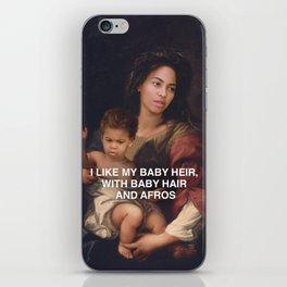 I Like My Baby Heir iPhone Skin