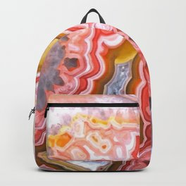 Agate Gem slice Backpack