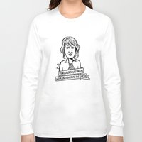 ellie goulding Long Sleeve T-shirts featuring Ellie Sattler by kate gabrielle