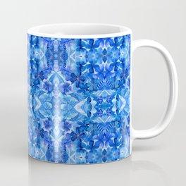 Gentle Clarity Blue Floral Coffee Mug