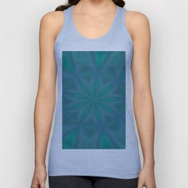 Aurora In Jade and Blue Unisex Tank Top