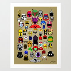 HeadGears Art Print