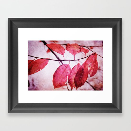 Winter's Breath is coming Framed Art Print