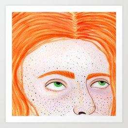 La Colora Art Print