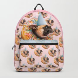Dog Party Donut Backpack