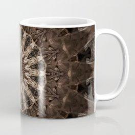 Bohemian Dark Brown Mandala Coffee Mug