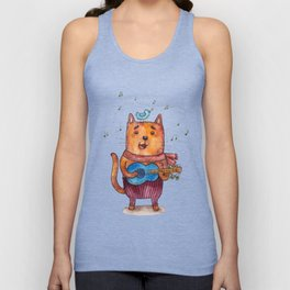 meow song Unisex Tank Top