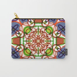 Floral Mandala Doodle #procreate #society6 #buyart Carry-All Pouch