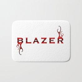 Blazer Logo Graphic Bath Mat