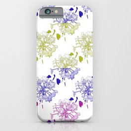 Mood swings with hydrangea buds 2 iPhone Case