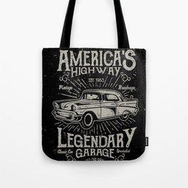 American Highway Star Tote Bag