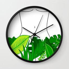 Naked Nature Wall Clock
