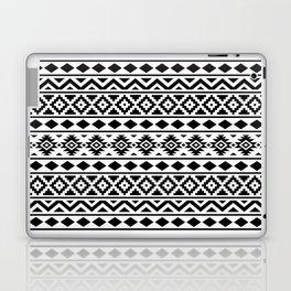 Aztec Essence Ptn III Black on White Laptop & iPad Skin
