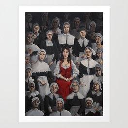 Bridget Bishop Art Print