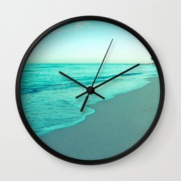 calm day 05 ver.blue Wall Clock