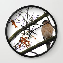 Waiting for a meal Wall Clock