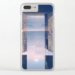 Room -A- Post Biological Era Clear iPhone Case