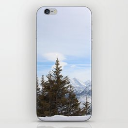 Wunderfull Snow Mountain(s) 4 iPhone Skin