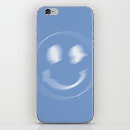 Glitch - Blue iPhone Skin