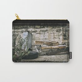 Vintage Trash Carry-All Pouch