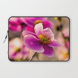 Japanese Anemone Laptop Sleeve