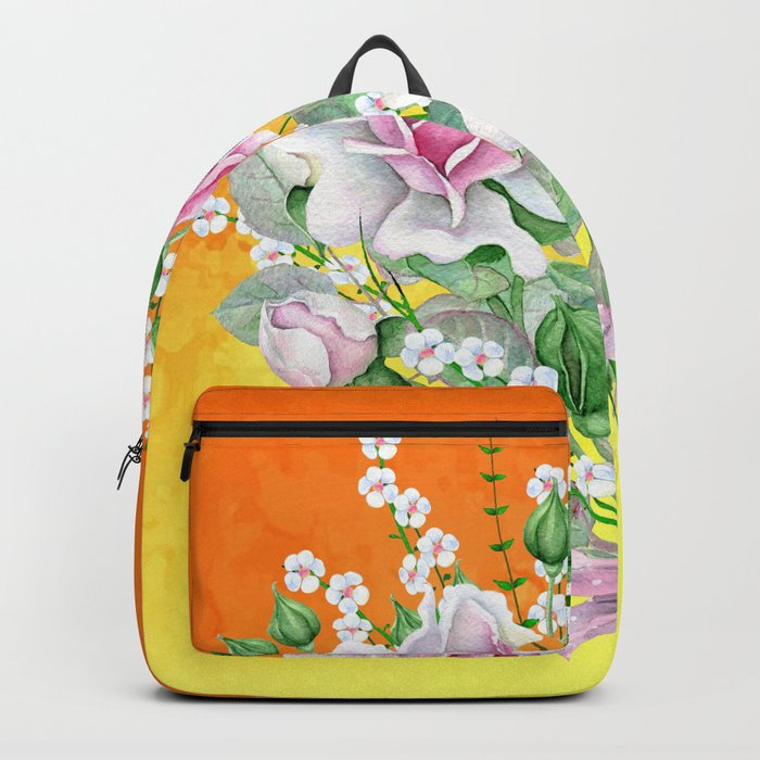 Flowers bouquet #22 Backpack