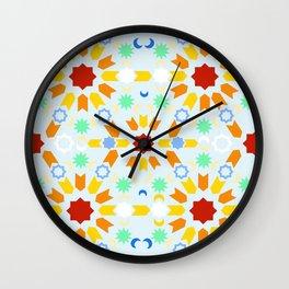 Winter Arabesque Wall Clock