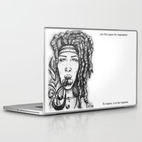 hippy Laptop & iPad Skins featuring Trippy Hippy by CROME