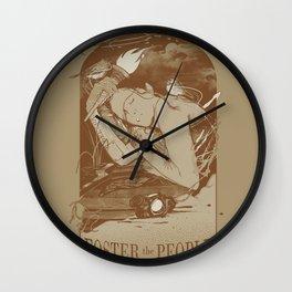 Helena Beat Wall Clock