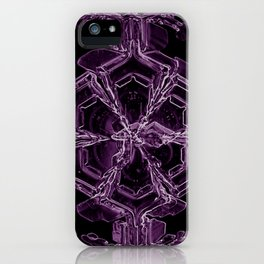 Water Turns Amethyst iPhone Case