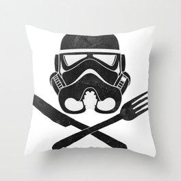 Eat Geek Play Logo Throw Pillow