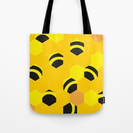 Funny bees Tote Bag