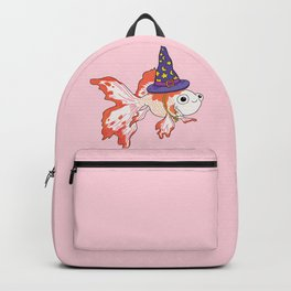 Goldfish Wizard  Backpack