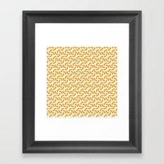Macaroni Framed Art Print