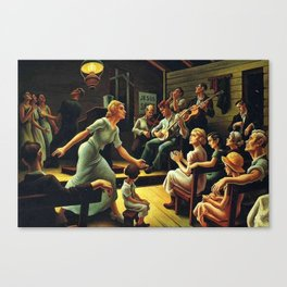 Classical Masterpiece 'Heal the Child' by Thomas Hart Benton Canvas Print