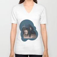 kili V-neck T-shirts featuring Kili ColorPalette by AlyTheKitten