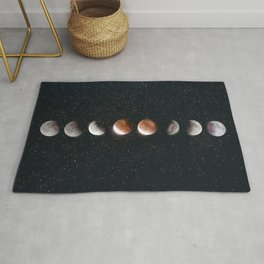 Phases of the Moon II Rug