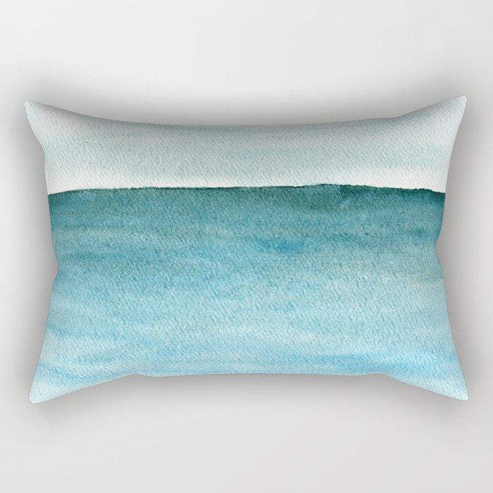Calm sea 1985 Rectangular Pillow