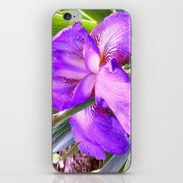 In Honor Of An Amazing Father: My Dad's Iris iPhone Skin