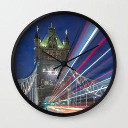 Tower Bridge, London Wall Clock