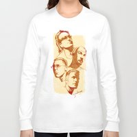 u2 Long Sleeve T-shirts featuring U2 - Série Ouro by Renato Cunha