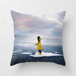 La légende nordique Throw Pillow