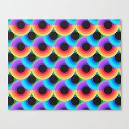 Vector Funk Canvas Print