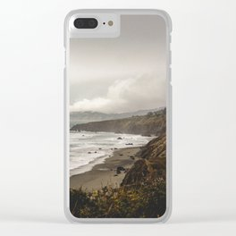 King Range, NorCal Clear iPhone Case